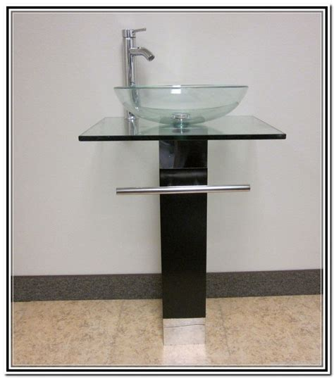 vanity with vessel sink combo home design ideas