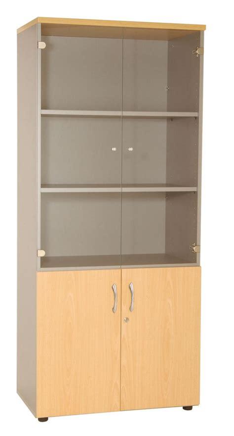 armoire m騁allique de bureau biblioth 232 que vitr 233 e