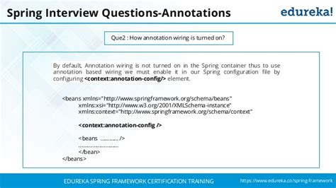 spring tutorial interview questions spring interview questions and answers spring tutorial