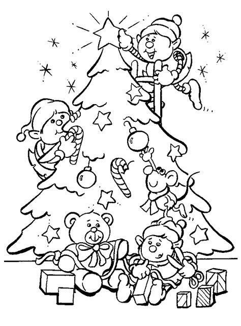 dibujos  colorear de navidad dale detalles