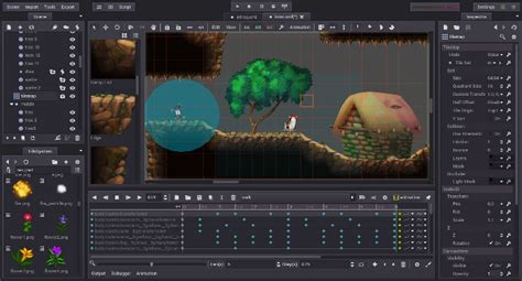 game design document editor godot engine features