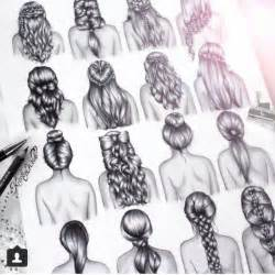 hairstyles drawings hairstyles