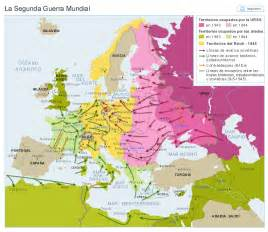 mapa europa despues de la segunda guerra mundial