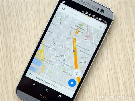 view maps android the basics of maps for android android central