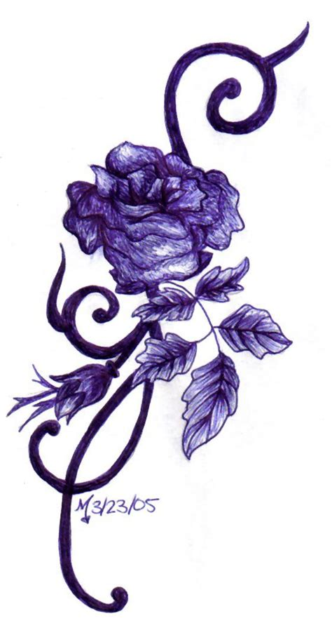 purple roses tattoos best 25 ankle tattoos ideas on simple