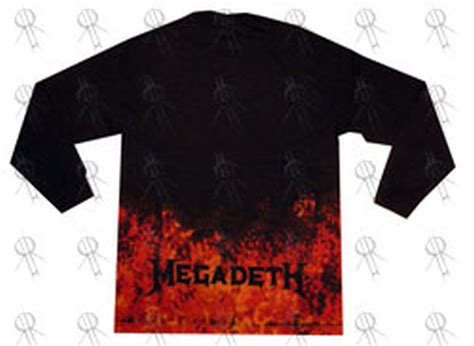 Megadeth T Shirt2 megadeth black the system has failed design