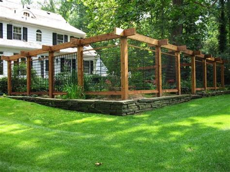 Easy Garden Fence Ideas 118 Fencing Ideas And Designs Different Types With Images