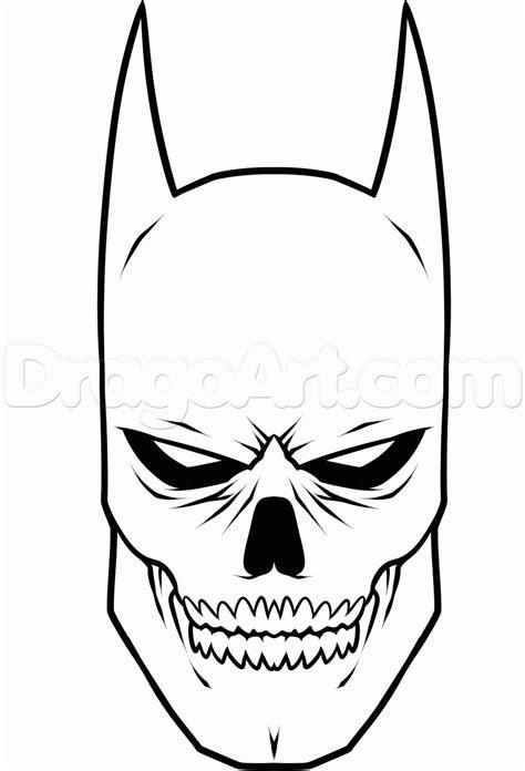 draw batman skull step step dc comics comics free drawing tutorial added