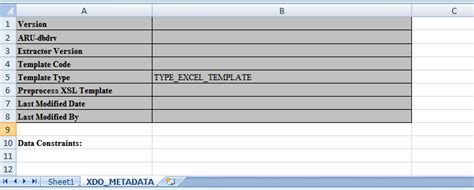 layout xml excel creating excel templates in release 10 1 3 4 2