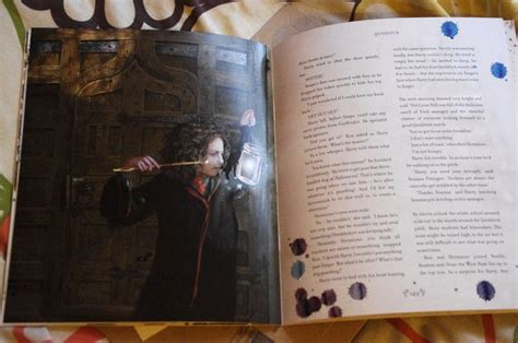 illustrated picture book inside the harry potter illustrated editions look