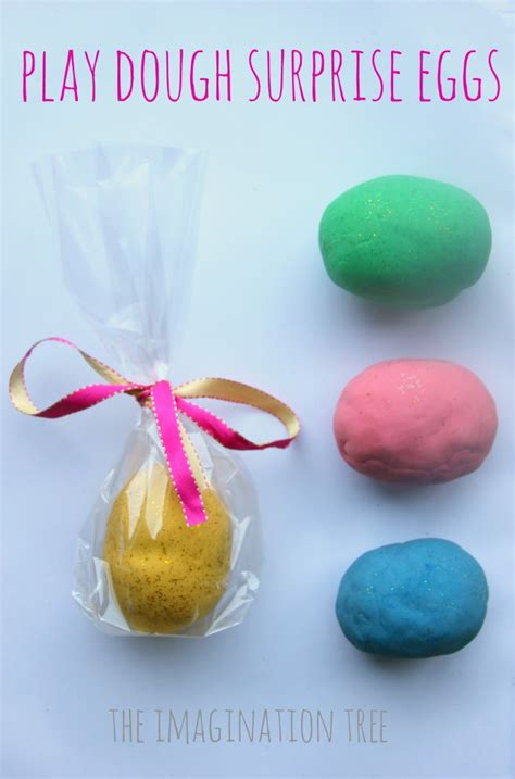 diy easter gift idea playdough eggs fun crafts kids