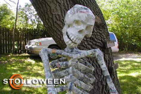 How To Make Paper Mache Bones - armature wire