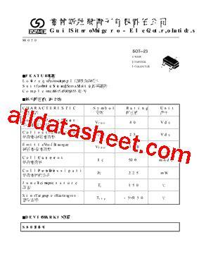 transistor datasheet s8050 s8050 datasheet pdf guilin strong micro electronics co ltd