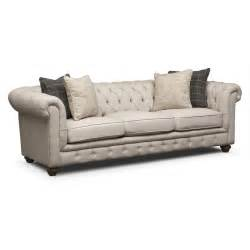 madeline sofa beige american signature furniture - Sofas Couches