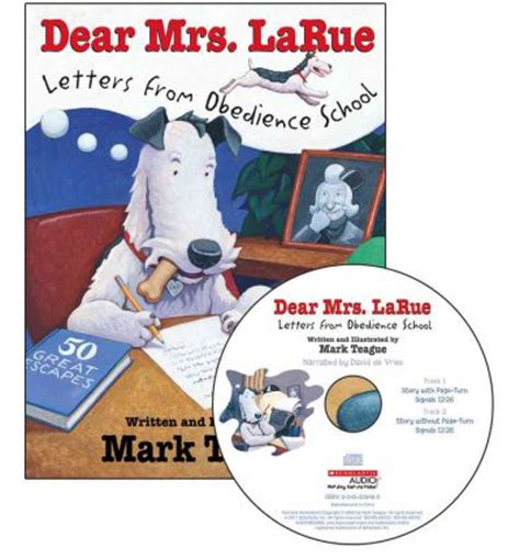 dear and an adventure in obedience books dear mrs larue teague 9780545315203