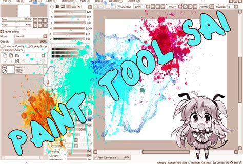 paint tool sai que no sea de prueba canvas hopes paint tool sai 161 una buena herramienta de dibujo