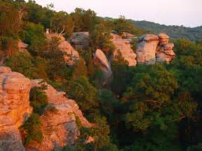 Garden Of The Gods Carolina Find Stunning Rock Formations At Illinois Garden Of The Gods