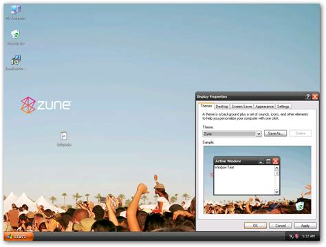 theme windows 7 zune microsoft zune theme for winxp download