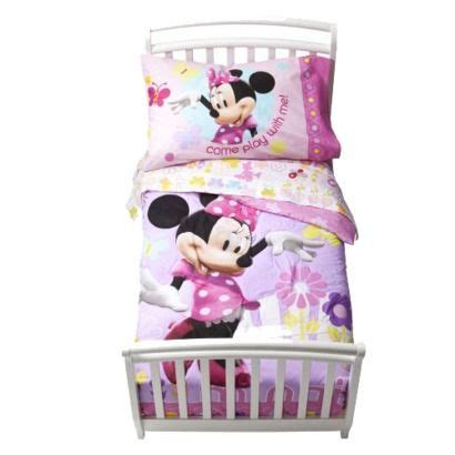 minnie mouse toddler bed set disney 174 minnie mouse bedding set toddler crib toddler
