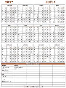 Calendar 2017 Excel With Indian Holidays 2017 Calendar India Trendy Pic