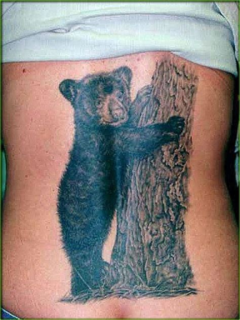 back tattoo bear bear tattoos and designs page 247
