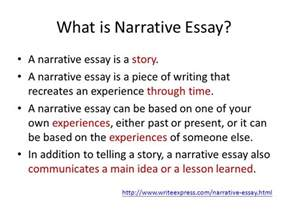 What Is Narrative Essay Writing by Unit 3 Narrative Essay Ppt