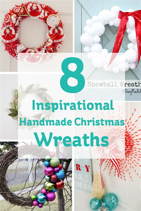 Handmade Crafts Uk - 8 handmade wreaths hobbycraft