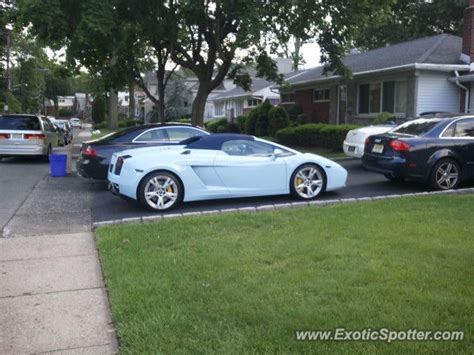 Lamborghini Nj Lamborghini Gallardo Spotted In Fort New Jersey On 06