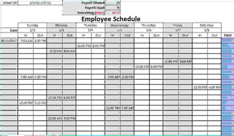 blank monthly work schedule template 10 monthly work schedule template memo formats