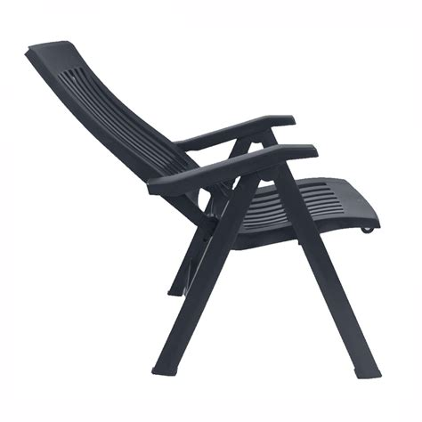 reclining garden chair nardi flora anthracite reclining garden chair the uk s