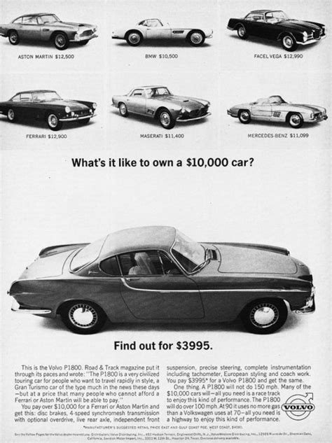 The Volvo P1800 Is On My List