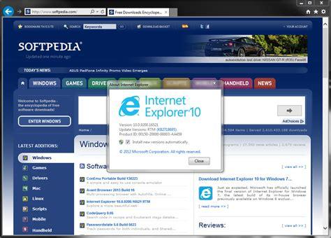 internet explorer 10 download internet explorer 10 for windows 7 final softpedia