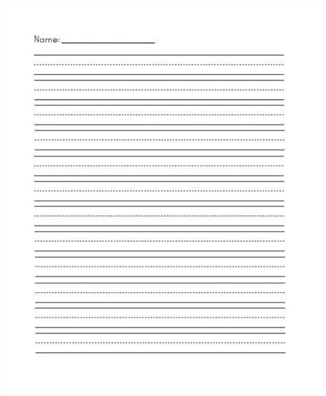 29 Printable Lined Paper Templates Free Premium Templates Writing Paper Template