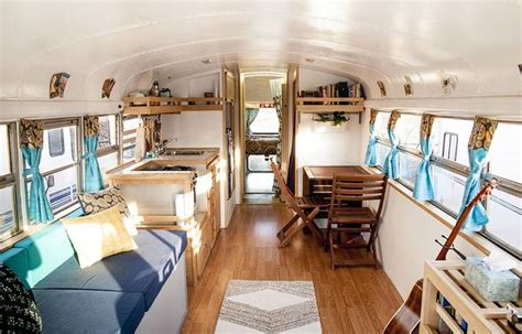 school bus tiny house we got schooled couple travels full time with off grid school bus tiny home video