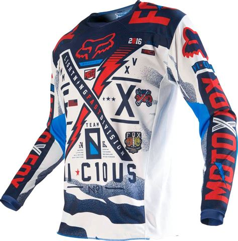 youth motocross gear closeout 22 95 fox racing kids boys 180 vicious jersey 235482