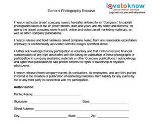 Digital Press Release Template by General Photography Release Form Photography