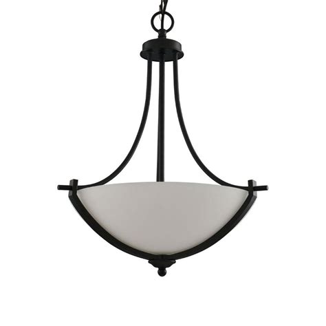 hton bay l shade replacements shop portfolio lyndsay in w brushed nickel pendant light