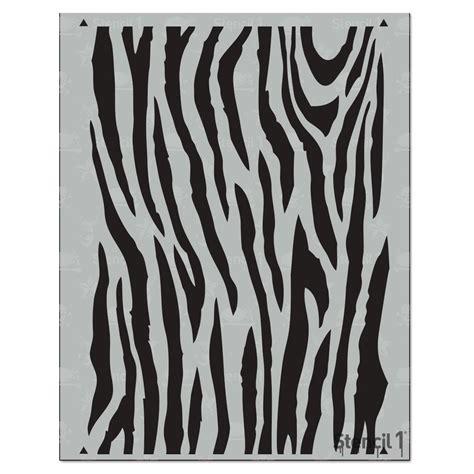 zebra pattern repeat stencil1 zebra medium repeat pattern stencil s1 pa 35