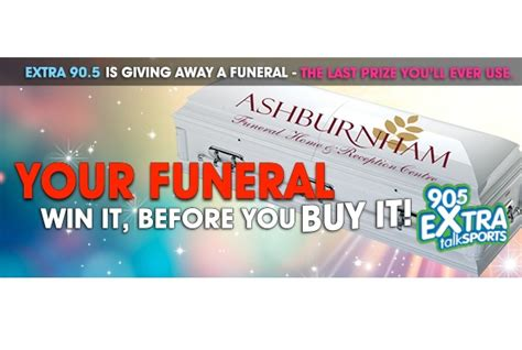Radio Station Giveaways - peterborough radio station hosts funeral giveaway 187 media in canada