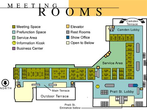 baltimore convention center floor plan the baltimore convention center