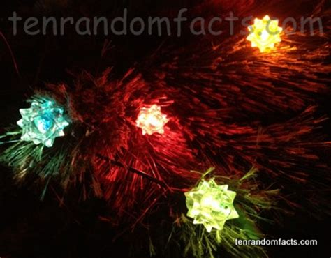 christmas lights ten random facts