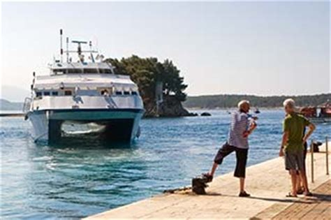 ferry catamaran novalja rab croatia l austral cruise photos