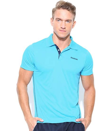 Polo Tshirt Reebokt Shirt Reebokkaos Polo Shirt Reebok Biru reebok blue polyester polo t shirt buy reebok blue polyester polo t shirt at low price