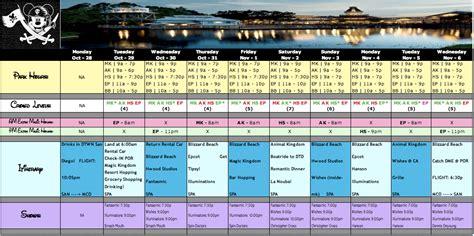 Walt Disney World Planning Spreadsheet by Best Photos Of Disney Itinerary Spreadsheet Disney World