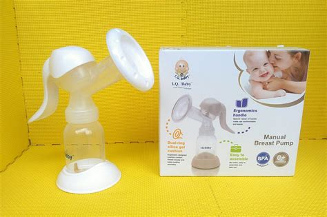Pompa Asi I Q Baby Iq Baby Manual Breast Original Ergonomics Bungaasi