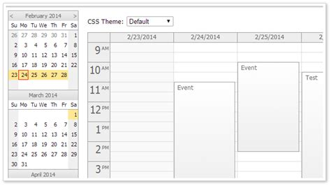 date and time functions 187 the open tutorials html5 event calendar scheduler codeproject