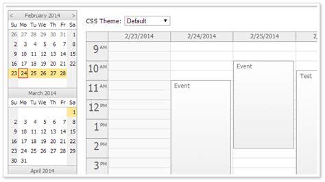 html5 date format javascript html5 javascript event calendar open source daypilot code