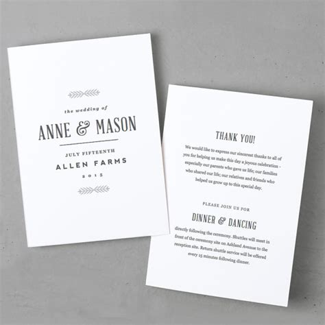 wedding program templates for pages editable wedding program template instant download rustic