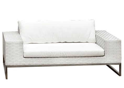 White Outdoor Wicker Furniture by White Wicker 2 Seat Outdoor Furniture Hire Perth