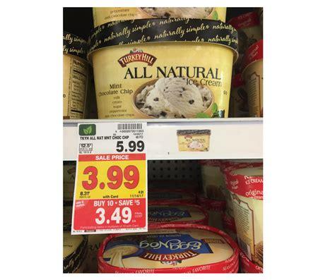 printable turkey hill ice cream coupons turkey hill ice cream as low as 1 99 kroger couponing